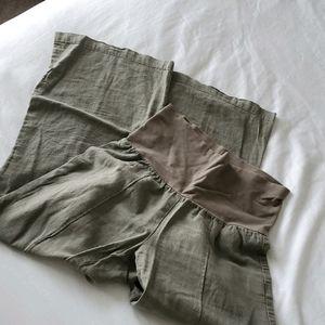 🍀3/$10 Wide Leg Maternity Pants